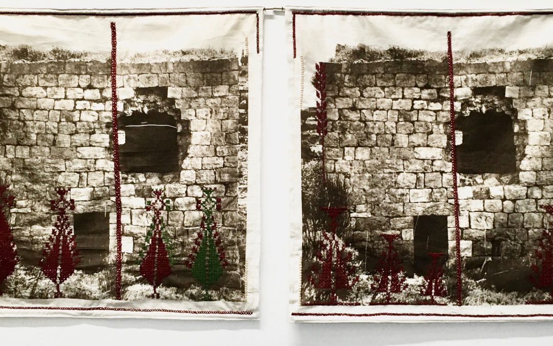 Leena Nammari, Before Long Ago Became Long Ago (Diptych), Royal Scottish Academy, 2020