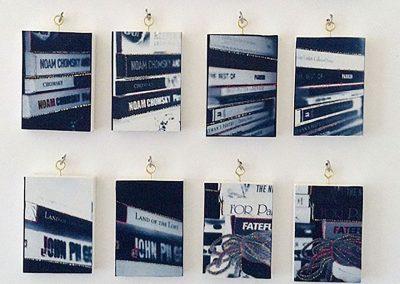 Leena Nammari, Books, Cyanotype, 50x60cm