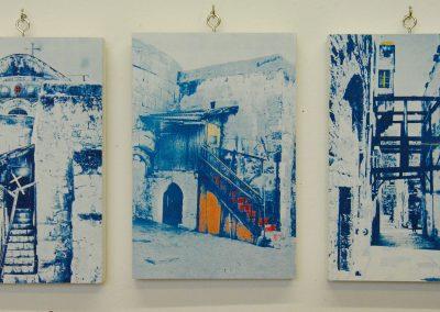 Leena Nammari, Off the Beaten Track, Triptych