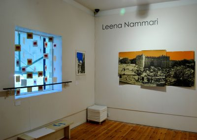 Leena Nammari, Space to Breathe, Installation shot