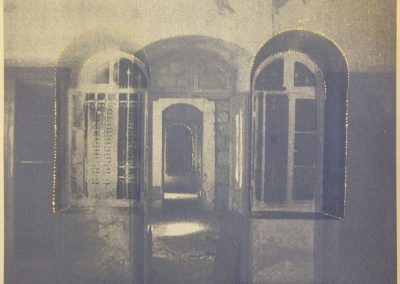 Leena Nammari, Windows and Corridors, Screenprint, 30x30cm
